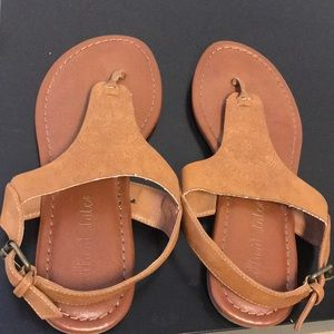 Altar'd State leather sandals